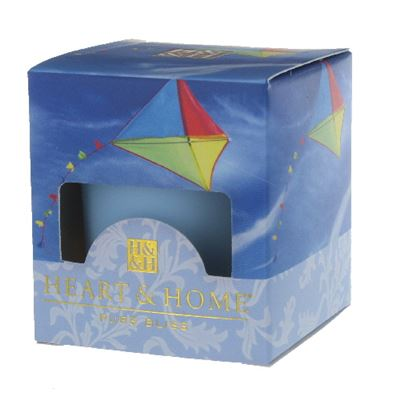 Cerulean Sky Heart & Home Votive Candle